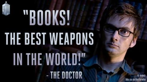 Doctor Who - Books Inspired You